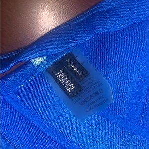 triangl swimwear Swim - BLUE TRIANGL BIKINI
